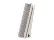 TMC 1911 Lightweigh Mainspring Housing - Checkered - Silver