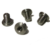 TMC 1911 Grip Screws - SS - Hex - Set of 4 - Slim/Thin Grips