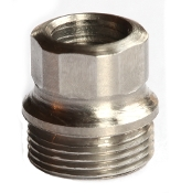 Challis Hex Drive Bushing, Stainless, Oversize, 4 pieces
