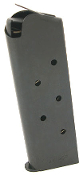 Check-Mate Match Blued Officer's 1911 Magazine  7 Round