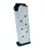 Check-Mate .45ACP, 8RD, SS, Hybrid,  Removable Pad - Full Size