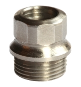 Challis Hex Drive Bushing, Stainless, 4 pieces , Standard Grip