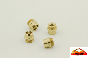 TMC 1911 Grip Bushings - Brass - Set of 4 -Standard Grips