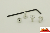 TMC 1911 Grip Screws - Aluminum - Hex - Standard Grips