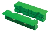 Multi Groove Magnetic Vise Jaw Inserts 2pc 4""